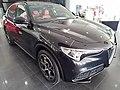 2021 Alfa Romeo Stelvio 2.0 Black front view in Brunei.jpg
