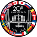 20th anniversary logo of the ISS.png