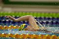 211000 - Swimming 200m medley SM7 Amanda Fraser action - 3b - 2000 Sydney event photo.jpg