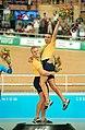 231000 - Cycling track Darren Harry Paul Clohessy gold medal podium 2 - 3b - 2000 Sydney podium photo.jpg