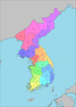 23 Districts of Korea.png