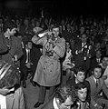 27.05.69 Affaire meurtre René Trouvé-Birague. Le Dr. Birague avec G. Pompidou (1969) - 53Fi1635.jpg