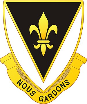329th Infantry Regiment (United States) - Image: 329 Inf Rgt DUI