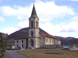 The church of Saint-Nicolas-de-Macherin