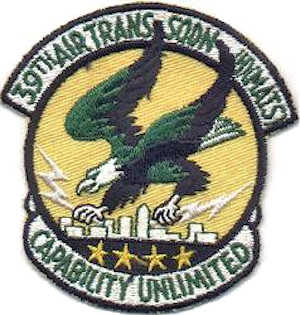 39th Military Airlift Squadron - Image: 39th Air Transport Squadron Emblem
