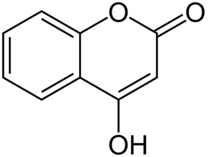 4-Hydroxycoumarin - Image: 4 Hydroxycoumarin