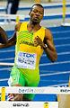 400 m hurdles Kerron Clement Berlin 2009 2.jpg