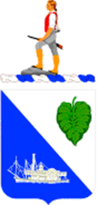 442nd Infantry Regiment (United States) - Coat of arms