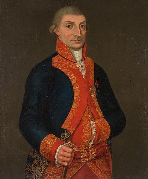 Retrato de José Iturrigaray y Aróstegui.