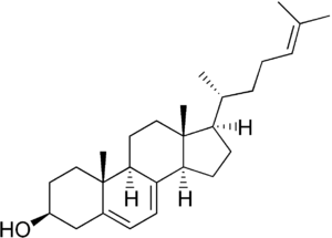 7-Dehydrodesmosterol - Image: 7 Dehydrodesmosterol