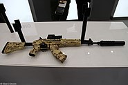 7.62mm AK-15 6P71 assault rifle at Military-technical forum ARMY-2016 01