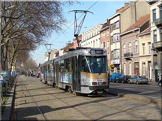 Brussels tram route 82
