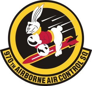 970th Airborne Air Control Squadron - 970th Airborne Air Control Squadron Patch