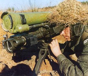 9K115 Metis - NATO reporting name: AT-7 Saxhorn