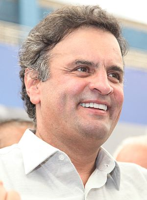 Brazilian general election, 2014 - Image: Aécio Neves 2014 02 20