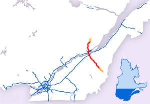 Quebec Autoroute 73 - Image: A 73