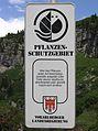 A-Vorarlberg - Schild 'Pflanzenschutzgebiet'.JPG