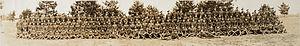 219th Highland Battalion (Nova Scotia), CEF - A. Co. 219th Overseas Battalion, Nova Scotia Highlanders, Capt. Rudland, OC (HS85-10-32002)