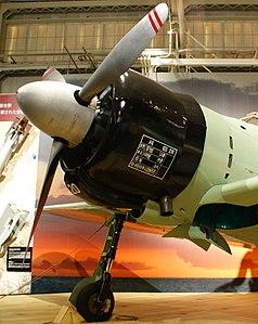 A6M2 Model 21 Zero MfrNo 500- nose and landing gear detail port 3-4.jpg