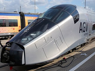 AGV (train) High speed train model