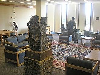 Hillman Library - A. J. Schneider Reading Room