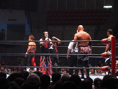 A match of All Japan Pro Wrestling in Taiwan, 2009 ALL JAPAN puroresu LOVE in Taiwan.jpg