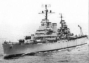 USS Phoenix (CL-46) - ARA General Belgrano