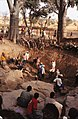 ASC Leiden - W.E.A. van Beek Collection - Dogon daily life 06 - It is the turn of an older age group to excavate the well, Tireli, Mali 1983.jpg