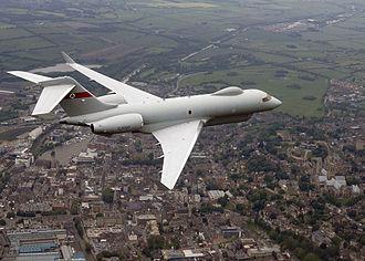 Raytheon Sentinel - ZJ690 on trials in 2007
