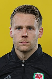 Chris Gunter Welsh footballer