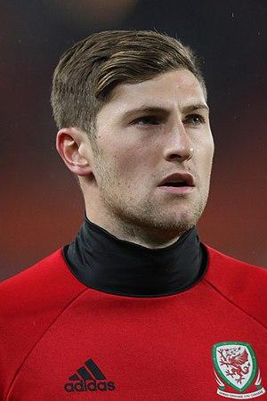 Ben Davies (footballer, born 1993) - Davies lining up for Wales, 2016