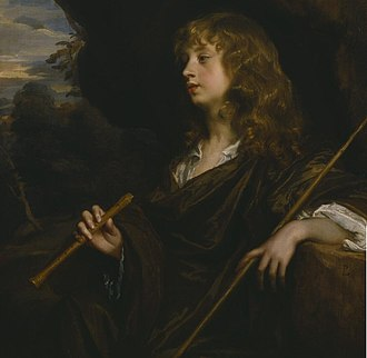 Strawberry Hill House - Among the works returned to the house for the exhibition was A Boy as a Shepherd by Sir Peter Lely c. 1659
