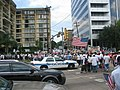 A Day Without Immigrants - Turnaround point, Houston police.jpg