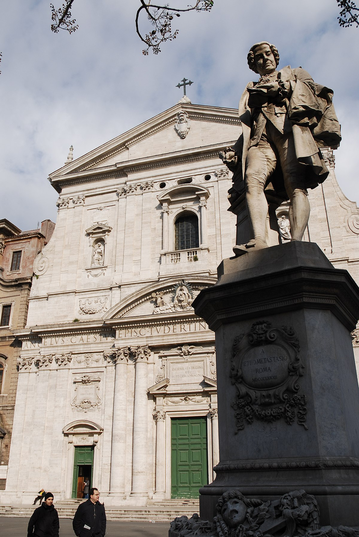 File:A Monument dedicated to Pietro Metastasio in front of ...