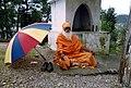 A Renunciate in Hinduism, Sannyasi in Dharamkote India.jpg