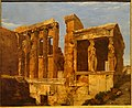 A View of the Erechtheum on the Acropolis, Athens, by Charles Lock Eastlake, 1818, oil on paper on canvas - Middlebury College Museum of Art - Middlebury, VT - DSC08177.jpg
