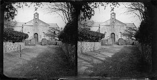 A church (stereograph)