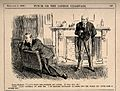 A father-to-be is being reassured by the family physician. R Wellcome V0011535.jpg