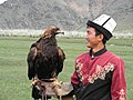 A local eagle man with his Golden Eagle.jpg