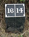 A mile marker along the Ashby Canal - geograph.org.uk - 924992.jpg