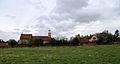 A view towards St Mary's Church from Tilty Abbey, at Tilty, Essex, England.jpg