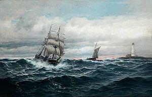 Martin Aagaard - Image: Aagaard martin 1863 1913 norwa for fulle seil