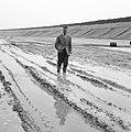 Aanleg en verbeteren van wegen, dijken en spaarbekken, lossgronden, regenval, ma, Bestanddeelnr 161-1272.jpg