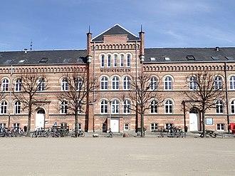 Vester Allés Kaserne - Facade detail of the barracks building