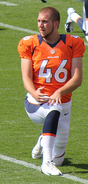 Aaron Brewer - Brewer with the Denver Broncos in 2012