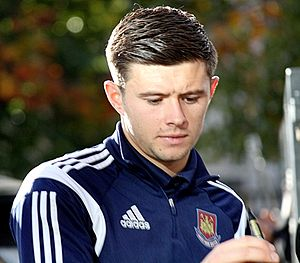 Aaron Cresswell - Cresswell in 2014