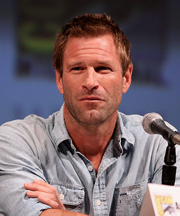 English: Aaron Eckhart at the 2010 Comic Con