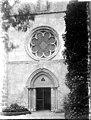 Abbaye Notre-Dame-de-la-Roche - Eglise, portail et rose - Levis-Saint-Nom - Médiathèque de l'architecture et du patrimoine - APMH00035983.jpg