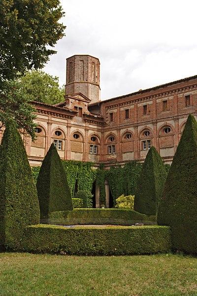 Old abbey of Boulbonne (Cintegabelle, France).