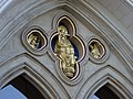 Above the West door - Chichester Cathedral - geograph.org.uk - 1578536.jpg